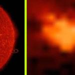 Föld méretű anomália haladt el a Nap közelében