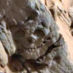 Döbbenetes lelet: Ősi idegen megkövesedett koponyájára bukkantak a Marson