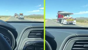 Fényes nappal, kamionnal szállítottak egy UFO-t az 51-es körzetbe
