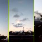 UFO-t lőtt le a hadsereg egy török falu felett, a helyiek videóra vették…