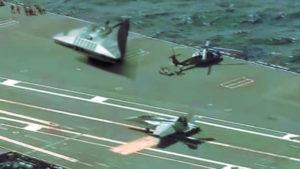 Lebuktak: UFO egy amerikai repülőgép-hordozó anyahajón