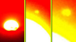 Ismét felbukkant a Nibiru? Óriás méretű objektumot fotóztak a Nap közelében…