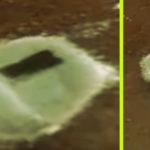 A műholdak szerint kinyílt egy titkos UFO-hangár kapuja az Antarktiszon