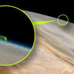 Különös felfedezés egy NASA fotón: Óriási idegen szerkezet lebeg a Jupiter légkörében…