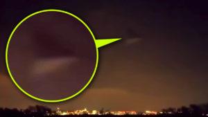 Háromszög alakú, fekete UFO lebegett a Pentagon felett