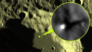 Különösen fénylő objektumot fedezett fel a Holdon egy magyar UFO-vadász