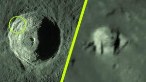 Megtalálták az idegenek bázisát a Hold egyik kráterében…