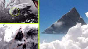 Sziget méretű objektumot érzékelt az időjárási radar a Csendes-óceán felett