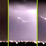 Villámcsapás ért egy UFO-t a texasi El Paso felett