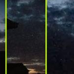 Egy UFO-flotta megszállta az eget Wyoming felett