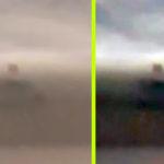 Piramis alakú UFO-t fotóztak egy viharfelhőben Zágráb felett