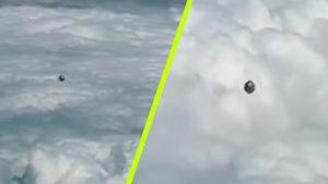 Egy pilóta lenyűgöző videót tett közzé egy kocka alakú UFO-ról