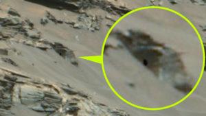 Ősi templomot találtak egy marsi domboldalon
