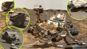 A véletlen műve? Túl sok a roncsra hasonlító kődarab a Marson!