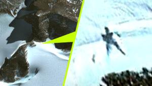 Óriási méretű emberszabású lényre bukkantak az antarktiszi jégbe fagyva