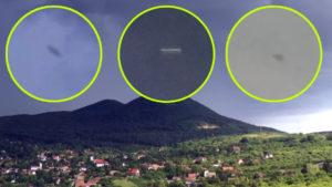 UFO-inváziót rögzítettek egy drónnal Csobánka felett