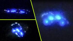 """""""Tudjuk mit láttunk!"""" – kéken világító UFO-t videózott egy házaspár az utcáról – eredeti felvétel"""