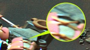 Emberek a Marson? Valaki megbarkácsolta az egyik marsjárót!