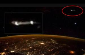 Ufót posztolt az egyik űrhajós a Nemzetközi Űrállomásról