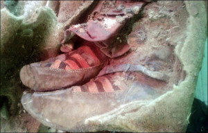 Adidas cipő volt az 1500 éves mongol múmia lábain?
