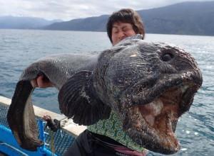 Rusnya tengeri szörny akadt horogra Japánban
