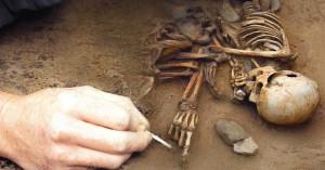 Manószerű emberfaj maradványaira bukkantak?