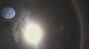 Naphalo jelenség közben ufó jelent meg Mexikóban