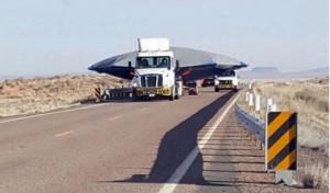 Kamionon szállították az óriási csészealjat az 51-es körzetbe?