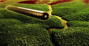 Hatalmas ufó anyahajóra bukkantak az Amazonas őserdejében