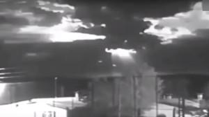 UFO robbant fel az Iszlám Állam támaszpontja felett?
