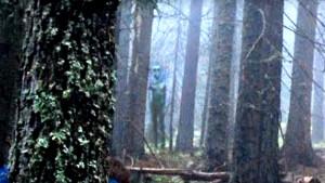 Hatalmas méretű földönkívüli lényt fotóztak egy bulgáriai erdőben!