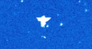 Angyal alakú űranomáliát fotózott a napfigyelő műhold!