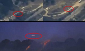 Az erdőtűz felett száguldozó ufót filmeztek az amerikai hírcsatorna helikopteréről