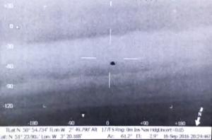 Álcázott ufót filmeztek a rendőrségi helikopter hőkamerájával