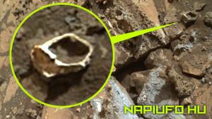Ősi pecsétgyűrűt talált a Marson a NASA roverje
