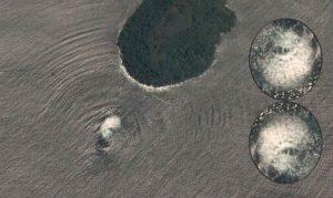 Rejtélyes objektumot fotózott egy műhold El Salvador partjainál