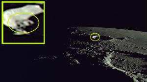 Idegen űrhajót találtak a Holdon japánok műholdas fotóin