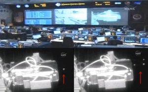 Alakzatban repülő UFO-kat rögzítettaz űrállomás kamerája