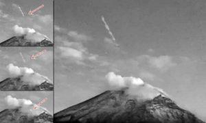 Földönkívüli bázist rejthet Mexikó legnagyobb működő vulkánja – videó