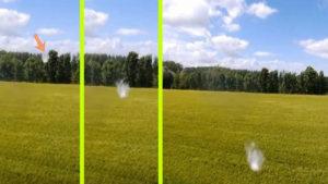 Kicsi fehér UFO-k kergetik az őrületbe a drónvideósokat