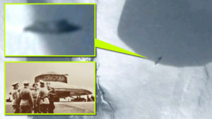 Lezuhant náci UFO olvadt ki az Antarktiszon a jég alól?