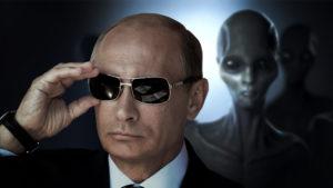 Vlagyimir Putyin lehet az első államfő, aki elismeri az idegenek jelenlétét