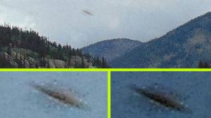 UFO-t fotózott egy turista az amerikai vadonban