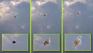 Bizarr csápos lény szállt elő a mexikói vulkáni felhőből