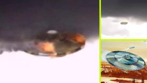 Viharfelhőben próbált elrejtőzni egy UFO, de elkésett, addigra levideózták