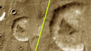 Az UFO-vadászok megütötték a jackpotot: tényleg idegenek bázisai vannak a Marson!
