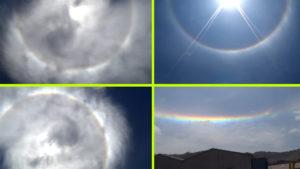Baljós jelek: Rejtélyes, korong alakú felhő takarta el a Napot Chile felett