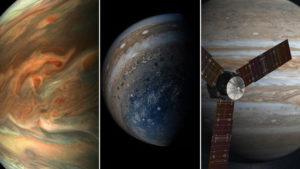 Elképesztő fotókat küldött a Juno űrszonda a Jupiterről
