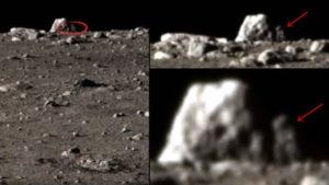 A kínaiak űrszondája is különös dolgot fotózott a Holdon