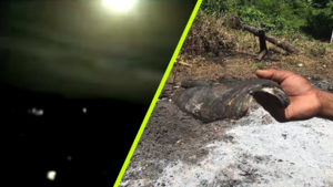 Egy farmer megtalálta a Brazíliában lezuhant rejtélyes tárgy maradványait
